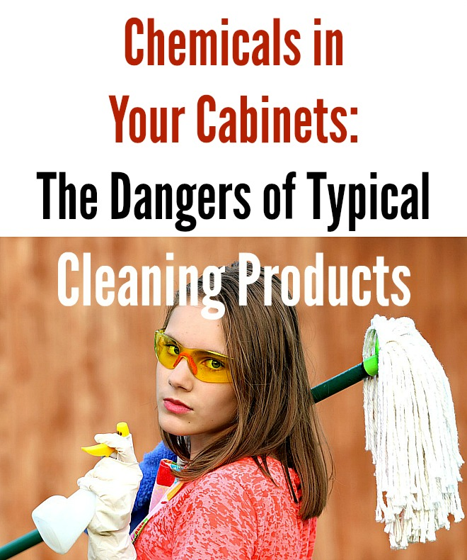 "Cleaning products – ""I'm scared""…"